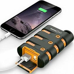 FosPower PowerActive 10200 mAh Power Bank - 2.1A USB Output