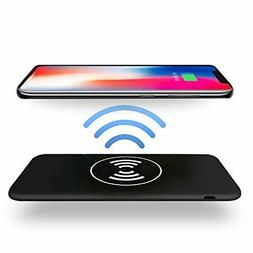 Qi Wireless Charging 10000mAh Power Bank For iPhone X/8/8 Pl