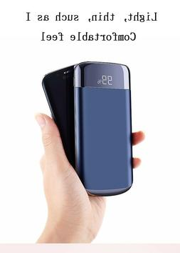 Quick Charge Power Bank 30000mAh 2 USB LCD Portable Universa
