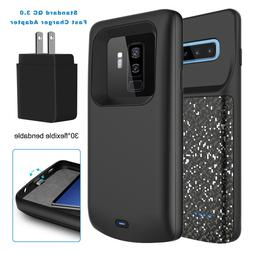 For Samsung Galaxy S10 Plus/S9/S8 Battery Charger Case Power