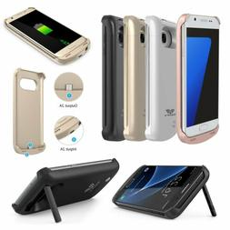 For Samsung Galaxy S7 S7 Edge Portable Battery Backup Case C