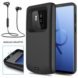 For Samsung Galaxy S8 / S9+ Plus Battery Charging Case Backu