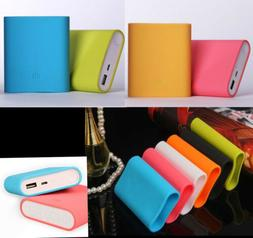silicone power bank charger protector case cover