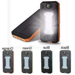 Solar Battery Charger Power Bank Case Kit Accessories For Ce