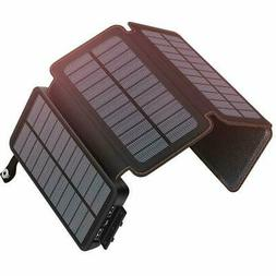 Solar Charger 25000mAh Portable Power Bank with 2 USB Output