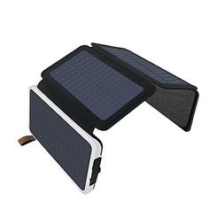 Solar Charger 10000mAh, AIRGINE Solar Phone Charger Dual USB