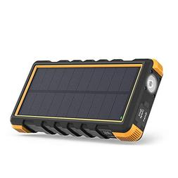Solar Phone Charger RAVPower 25000mAh Outdoor Portable Solar