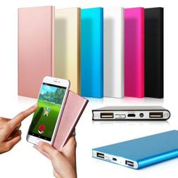 Ultra Thin 30000mAh Power Bank External Battery Charger For