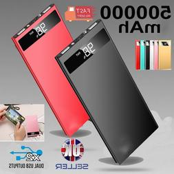 ultra thin 9mm power bank 500000mah external