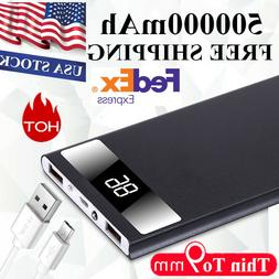 Ultra-thin 9mm Travel Universal Battery Charger Convenient 5
