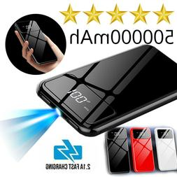 Ultra-thin Portable Power Bank 500000mAh External Battery Ch
