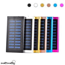 Ultrathin 20000mAh Solar Portable External Battery Charger P