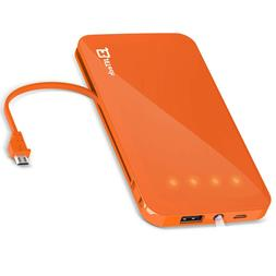 JETech Universal Portable External Power Bank Battery 5000/6