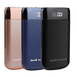 US 50000mAh Power Bank 2USB Portable Battery Charger For App