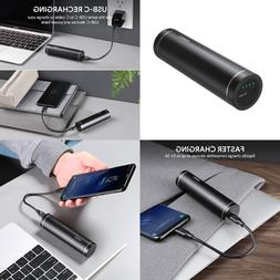 USB C Power Bank 5000Mah Portable Charger Battery Pack For G