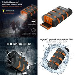 waterproof charger portable armor power bank 9000mah