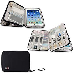 BUBM Waterproof Compact Electronics Storage Bag for Cables,
