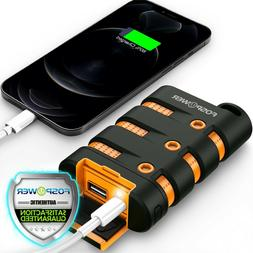 Waterproof Heavy Duty Portable Phone Charger External Batter