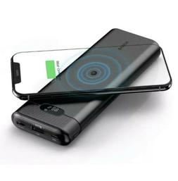 AIDEAZ Wireless Power Bank 20000mAh Portable Charger, LCD Di